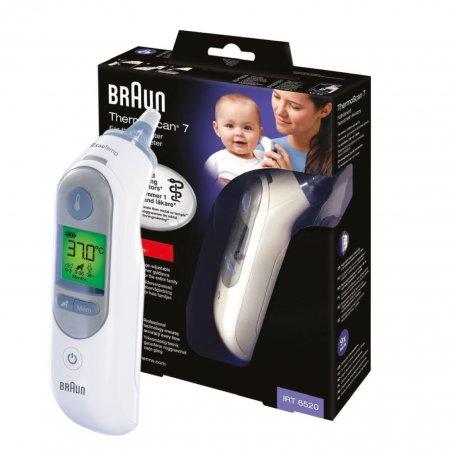 Termometr elektroniczny do ucha Braun IRT6520 ThermoScan® 7