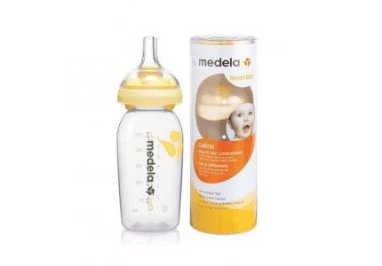 Medela Calma z butelką-250 ml