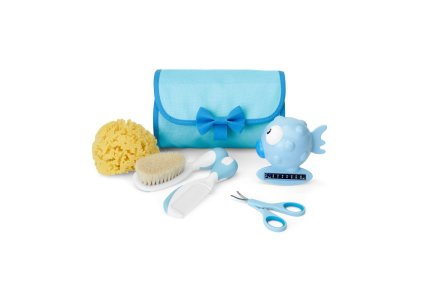 Chicco Akcesoria kąpielowe w etui 0m+ niebieski