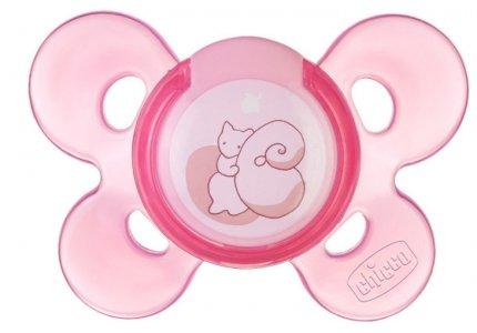Chicco Physio Comfort Silikonowy Różowy 0m
