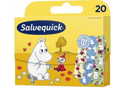 Salvequick Moominki 20 szt