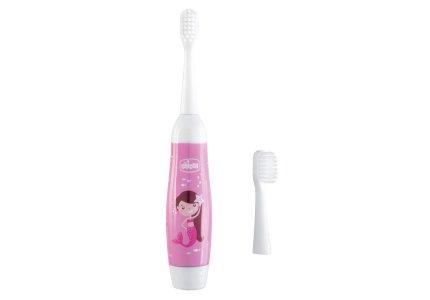 Chicco Elektryczna Szczoteczka do zębów różowa