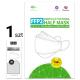 Certyfikowana półmaska FFP2 EN149:2001 z grafenem BMSS Willow Leaf 40 szt po 1 szt.